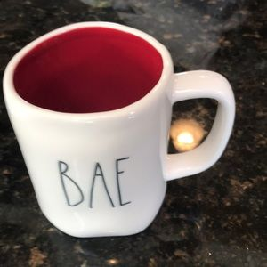 "Rae Dunn #192 ""BAE""  mug"